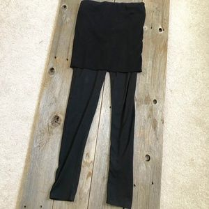 Black Tights Legging With Skirt (Korean Brand)